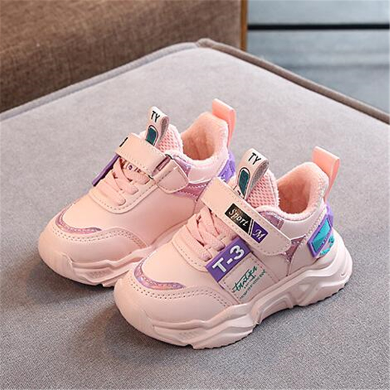 Children Flats Breathable Comfortable Sports Shoes Winter Boy Girls Casual Cotton Shoes Sneakers Kids Toddler Shoes Loafers 06A