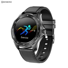 SENBONO S09PLUS IP68 מזג Waterproof חכם שעון קצב לב צג לחץ דם Smartwatch כושר גשש שעון צמיד