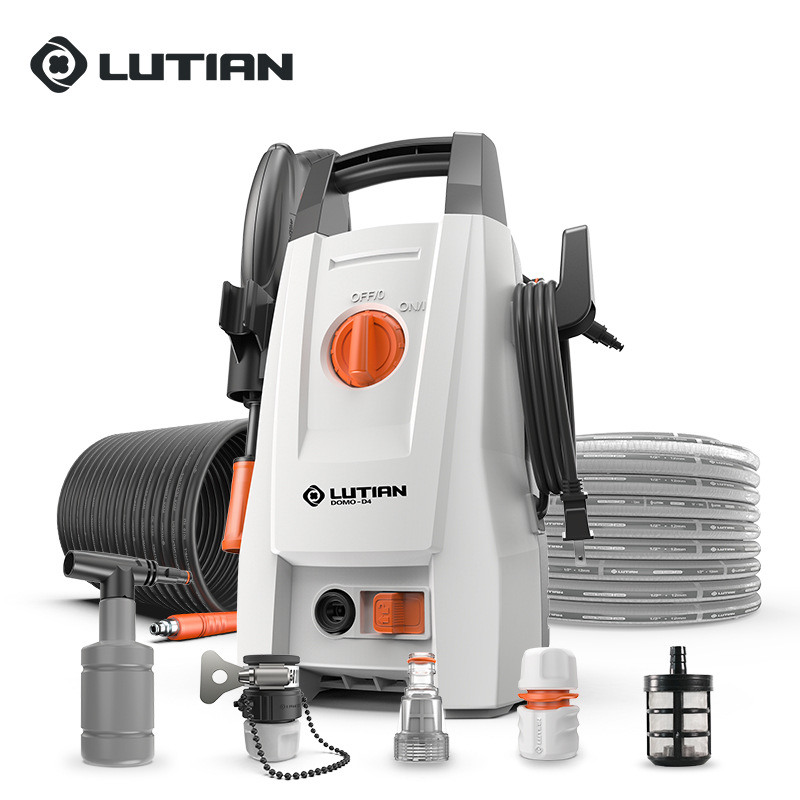 High pressure car washing machine household 220v brush car water pump automatic car washing portable water gun cleaning machine