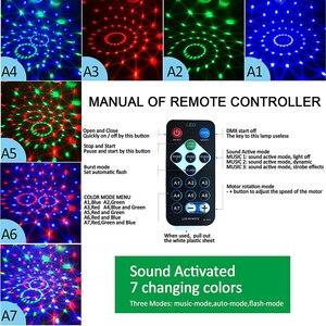 Image 5 - RGB LED para fiesta, luz de discoteca de efecto, lámpara láser de escenario, proyector RGB, lámpara de escenario, música, KTV, festival, Fiesta, lámpara LED, luz de dj