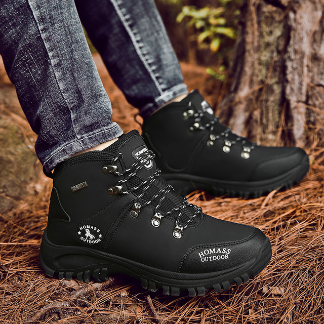 2020 Men Waterproof Hiking Shoes Military Tactical Boots DELTA Outdoor Breathable Climbing Shoes Non-slip Trekking Sneakers Male 4