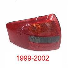 Per Audi A6 C5 1999 2000 2001 2002 Posteriore Fanale Posteriore Posteriore della Lampada Del Freno Posteriore Fanale Posteriore Alloggiamento Della Lampada di Retromarcia Paralume No linea Senza Luce