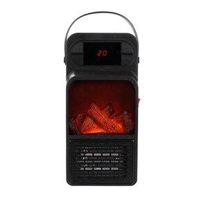 Lidar com aquecedor de espaço 900 w display led mini parede tomada aquecedor elétrico ue plug in aquecedor de ar doméstico ventilador de parede para casa/o|Aquecedores elétricos|Eletrodomésticos -