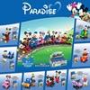 Nuovo film classico Disney Mickey Minnie classic 8 in 1 power train Building Model building block girl boy Toy gift