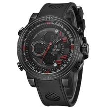 WEIDE WH5209 Electronic Smart Watch Quartz Digital Business Men Fashion Casual Outdoor Sports Male Wristwatch Dual Time Month