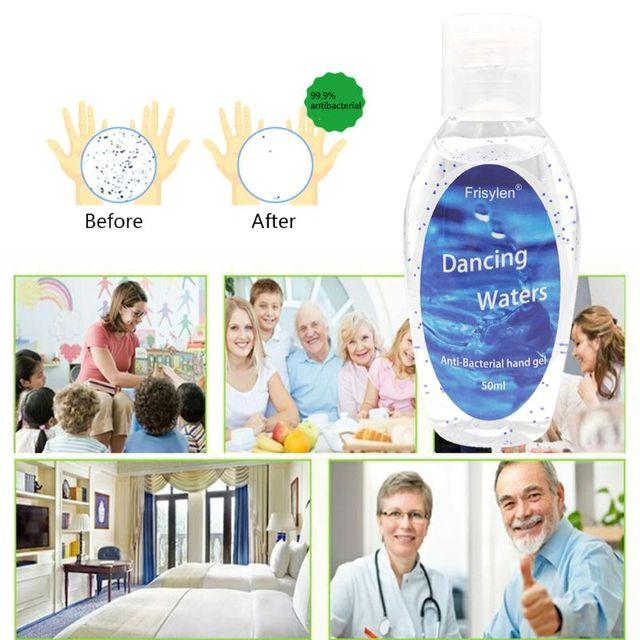 50ML Refreshing Hand Gel Antibacterial Travel Hand Sanitizer Disposable 4