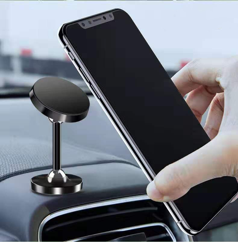 360 Degree Universal Rotatable Car Magnetic Mobile Phone Holder Stand Holder Support Desktop Car Cell Phone Racks Accessory