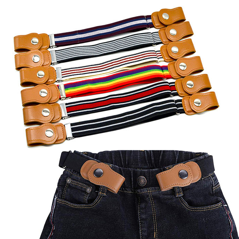 2021 New belts for Child Buckle-Free Elastic Belt No Buckle Stretch Belt for Kids Toddlers Adjustable Boys and Girls Belts