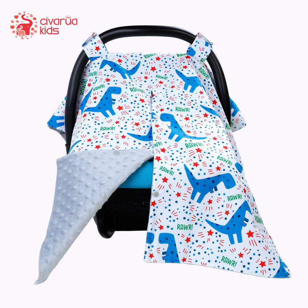 Carseat Canopy Nursing Cover Up Infant Girl Boy With Peekaboo Opening Large Infant Car Seat Canopy For Breastfeeding Moms Nursing Covers Aliexpress