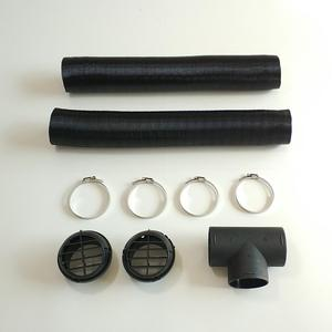 Image 5 - Parking Air Heater Heating Pipe Catheter 75mm Diesels Heater Ducting Air Pipe Hose for Car Heater Accessories