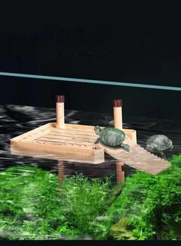 Żółw suszący platforma brazylijski żółw wodny pływający wyspa żółw zbiornik akwarium pływające suszenie platforma leżąca platforma tanie i dobre opinie CN (pochodzenie) Drewna Z tworzywa sztucznego