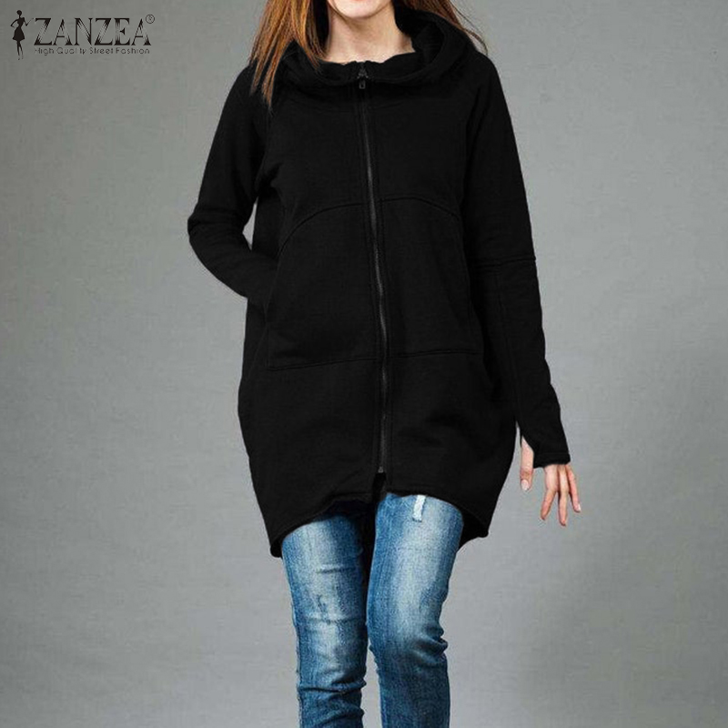 2020 Fashion Women Sweatshirt Tops Long Sleeve Hoodie Sweatshirt Spring Loose Zipper Coats Tracksuit Ladies Casual Hoodies 5XL 7