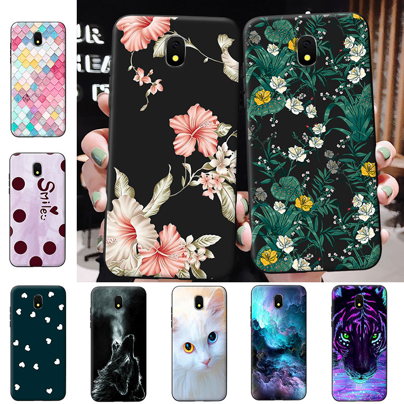 Soft Silicon Shell for J1 2015 2016 2017 TPU Slim Phone Case for Coque J310 Back Cover for Samsung J2 Core J4 Plus J5 Prime Capa image