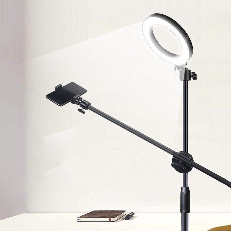 cheapest 10inch Selfie Ring Light with 39 40inch Tripod Stand   Phone Holder for Makeup Live Stream LED Camera Ring Light  for Vlog other