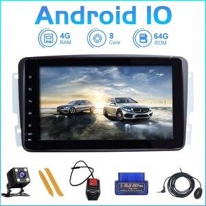 Image 1 - ZLTOOPAI Acht Core Auto Multimedia Player 2 Din Auto Radio GPS Android 10 Für Mercedes Benz CLK W209 Vito W639 Viano canbus IPS