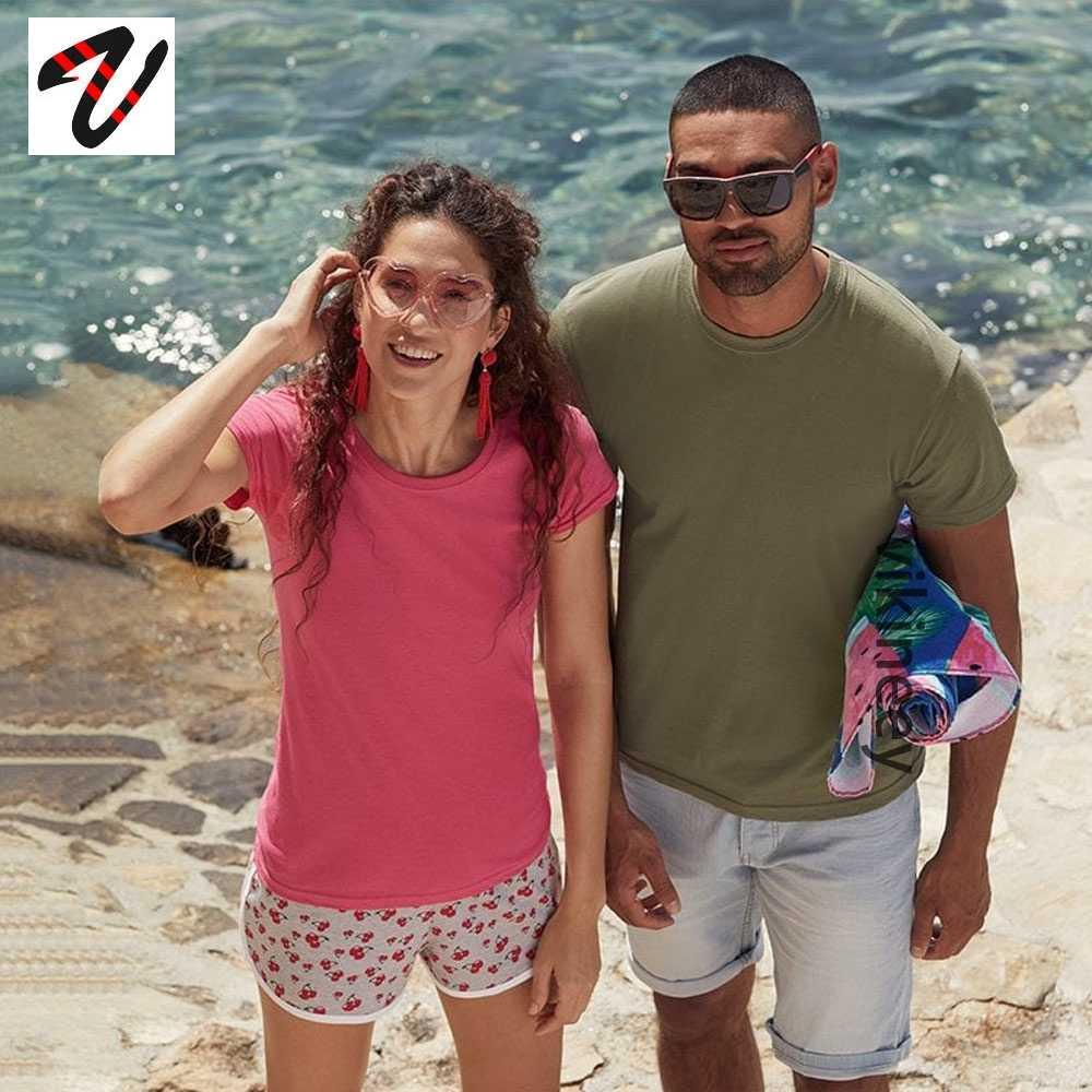 2020 neue Beiläufige Marke Einfarbig T Hemd Männer Frauen Weiß Schwarz 100% baumwolle T-shirts Sommer Herbst Tops Tees Jungen mädchen T-shirts