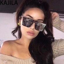 KAJILA New Arrival 2019 Square Sunglasses Women Men Fashion Gradient Driving Oversize Sun Glasses Man UV400 Gafas De Sol 2039-1