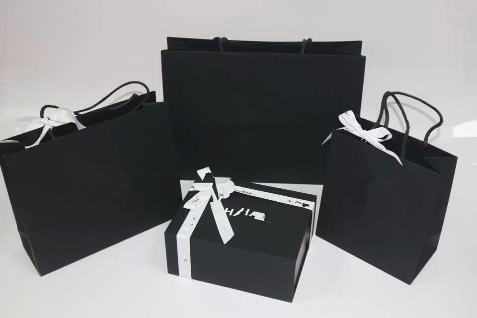 3 Pcs/set Black High Quality Box Set