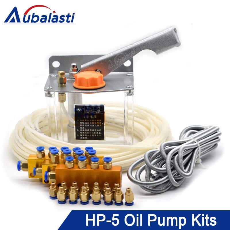 Aubalasti Injection Molding Machine CNC Machine Tool Lathe Hand Pressure Manual Lubrication Pump HP-5 Oiler Oiler Pump