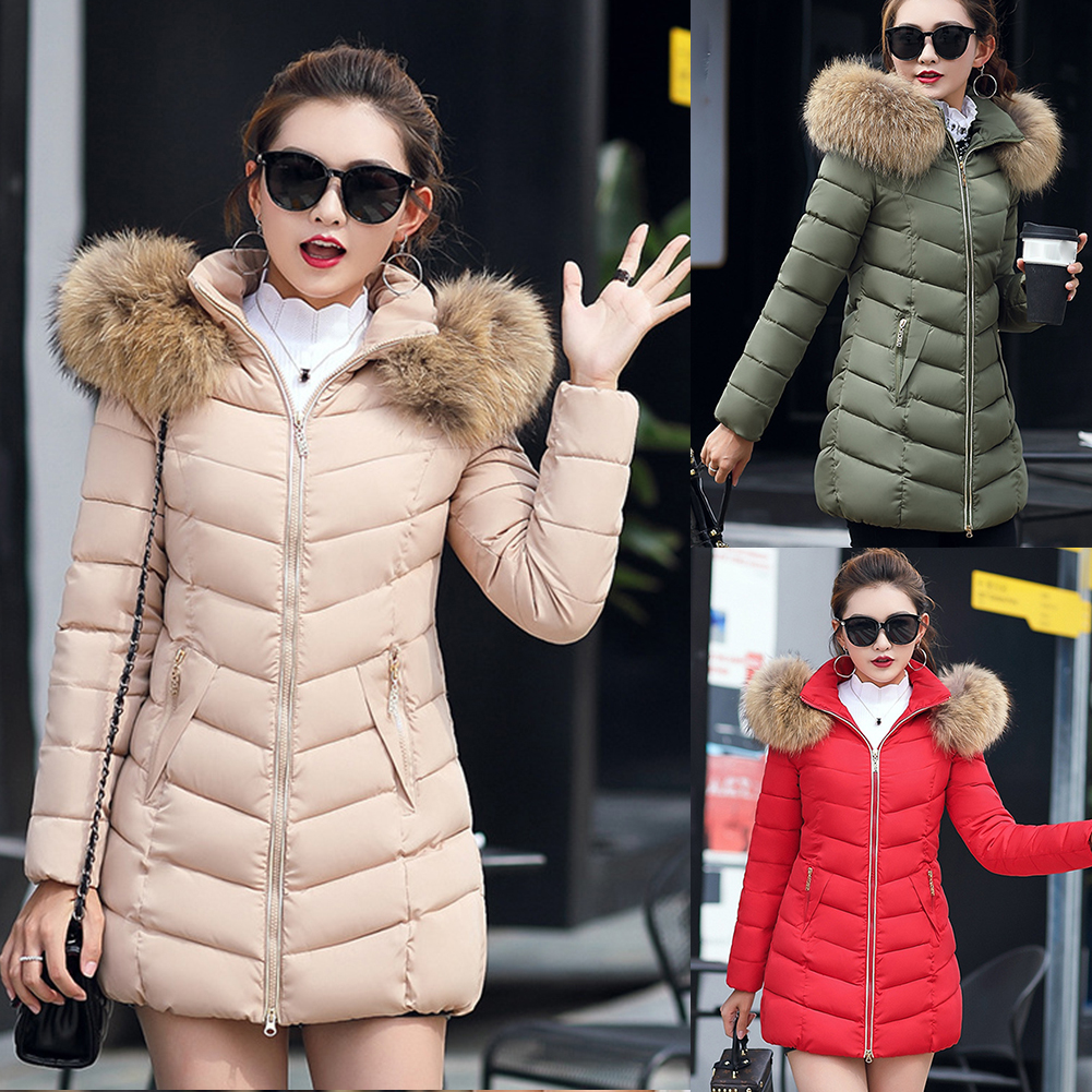 2020 Women's Down Jacket Long Thick Coat Women Hooded Down Parka Warm Female Clothes  Fashion And Style Down Women Winter Jacket