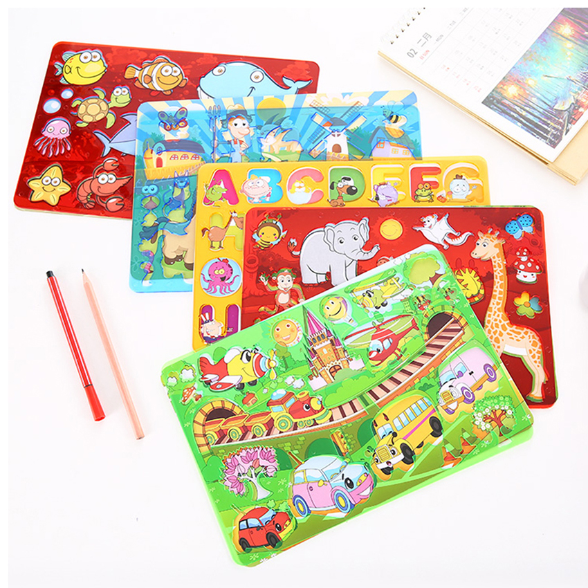 Children Art Drawing Template Students Stationery Cartoon Hollow Painting Rulers School Kids Early Education Supplies Cute Ruler