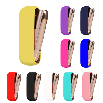 Soft Silicone Cover Case For IQOS 3 Protective Case For IQOS 3.0 Cigarette Accessories колпачок iqos для iqos 3 duos медный