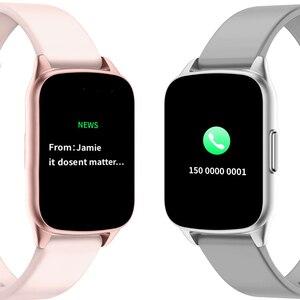 Image 4 - SENBONO KW17 pasek do smarwatcha mężczyźni kobiety zegarek sportowy pulsometr pomiar podczas snu Smartwatch tracker dla IOS Android