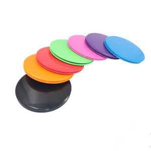 1 Pair Glide Discs Fitness Abdominal Workout Exercise Rapid Training Slider Gliding Discs for Men Women