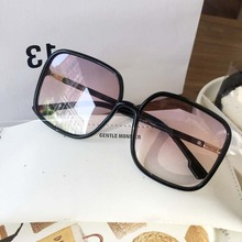 Rectangle sunglasses women oversized eyewear 2019 gradient b