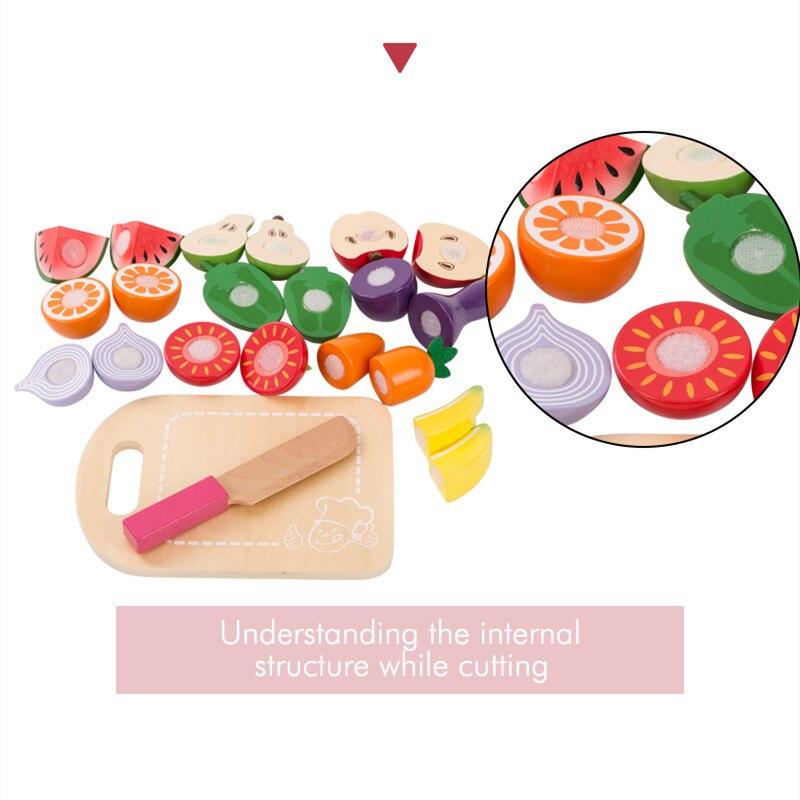 Accessories Pretend Fruit Vegetable