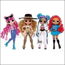 L.O.L. Сюрприз! О. М. Г. Серия 3 Da Boss класс Prez Roller Chick Chillax Модная Кукла LOL с 20 сюрпризами