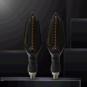Image 5 - Clignotants universels de moto lampes led lumières lampe pour KAWASAKI ER 5 ER6N H2 Street Versys 650cc VERSYS 300X ZRX1200 ER 6F
