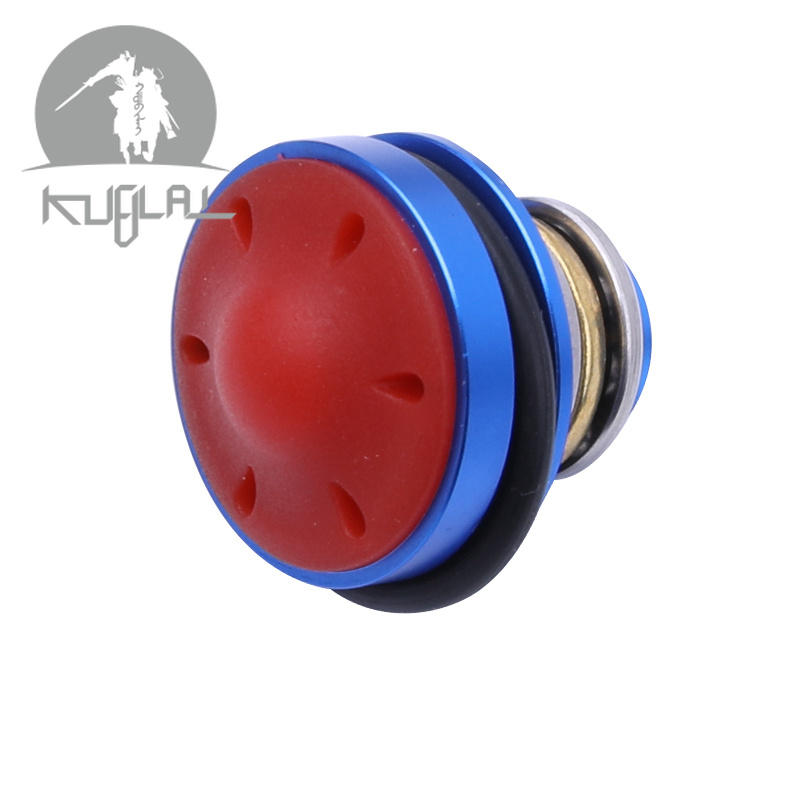 Metal Aluminum Alloy Mushroom Silent Piston Head For Ver.2 / 3 Gel Blaster Airsoft AEG Gearboxs Free Shipping