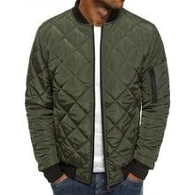 Mens Winter Jackets and Coats Solid Color  Casual Parkas Men