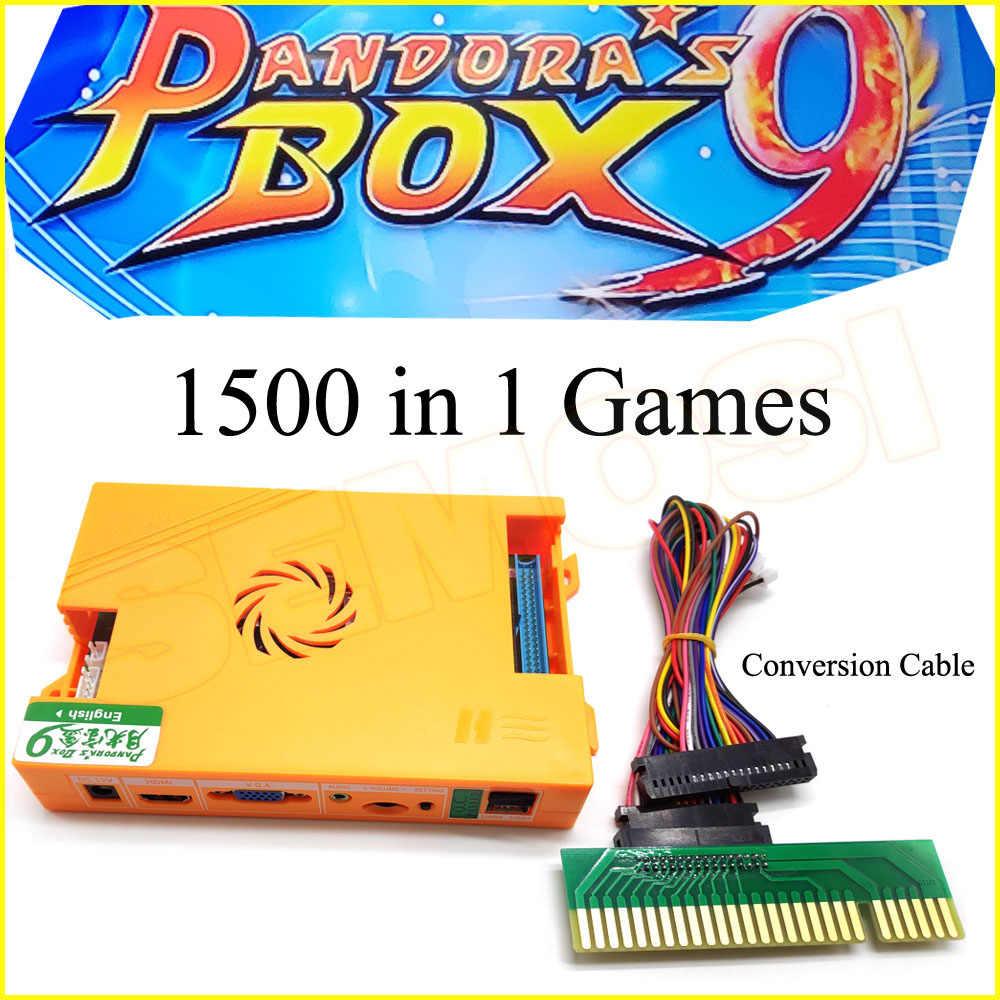 1500 In 1 Pandora's Box 9 Jamma Arcade Game PCB Board Support PC ...