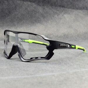 Image 2 - Occhiali da Ciclismo fotocromatici uomo e donna sport allaria aperta occhiali da bicicletta occhiali da sole per bici occhiali occhiali Gafas Ciclismo 1 lente