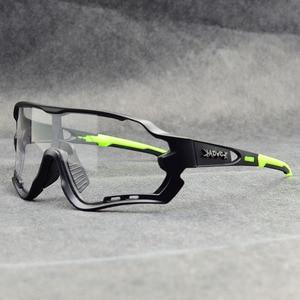 Image 2 - Photochromic Cycling Sunglasses Men&Women Outdoor sport Bicycle Glasses Bike Sunglasses Goggles Eyewear Gafas Ciclismo 1Lens