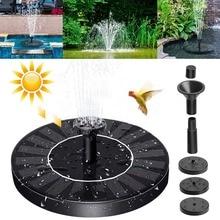 Плавающий садовый фонтан на солнечной батарее, декоративный фонтан с питанием от солнечной панели, для украшения сада