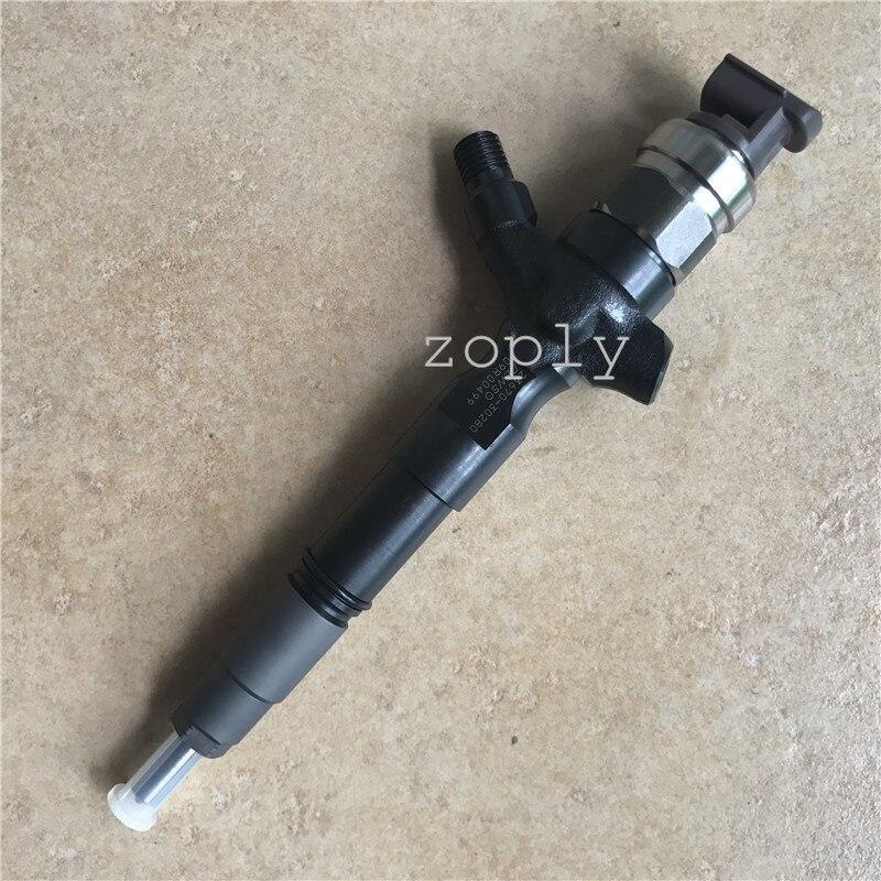 23670-30280 23670-39315 23670-39316 yüksek basınçlı enjektör TOYOTA 1KD-FTV HILUX / PRADO D4D