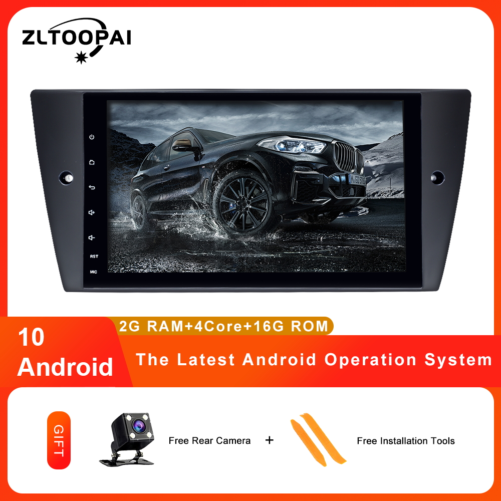 ZLTOOPAI 1 Din Android 10.0 lecteur multimédia de voiture pour BMW E90 E91 E92 E93 3 série GPS Navigation Auto Radio lecteur de voiture IPS nouveau