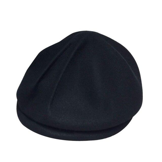 Personality Fold Cap Wool...