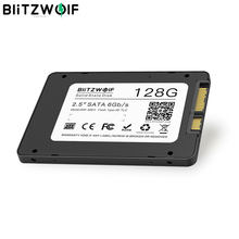 "BlitzWolf BW-SSD1, disco duro interno SATA3 de 128 "", 6Gbps R/W at 2,5 MB/s de estado sólido, Chip TLC, para SATA, PC y ordenador portátil(China)"
