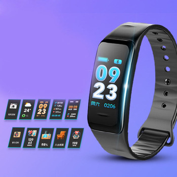 intelligent exercise bracelet heart rate and blood pressure multifunctional waterproof silicone bracelet for men and