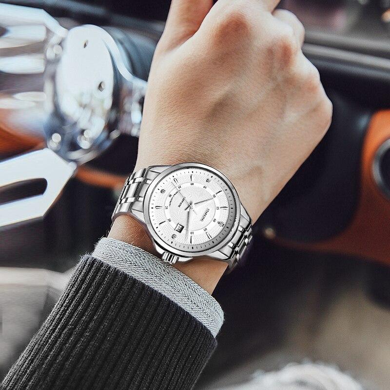 Starking Роскошные Брендовые мужские механические часы Японские
