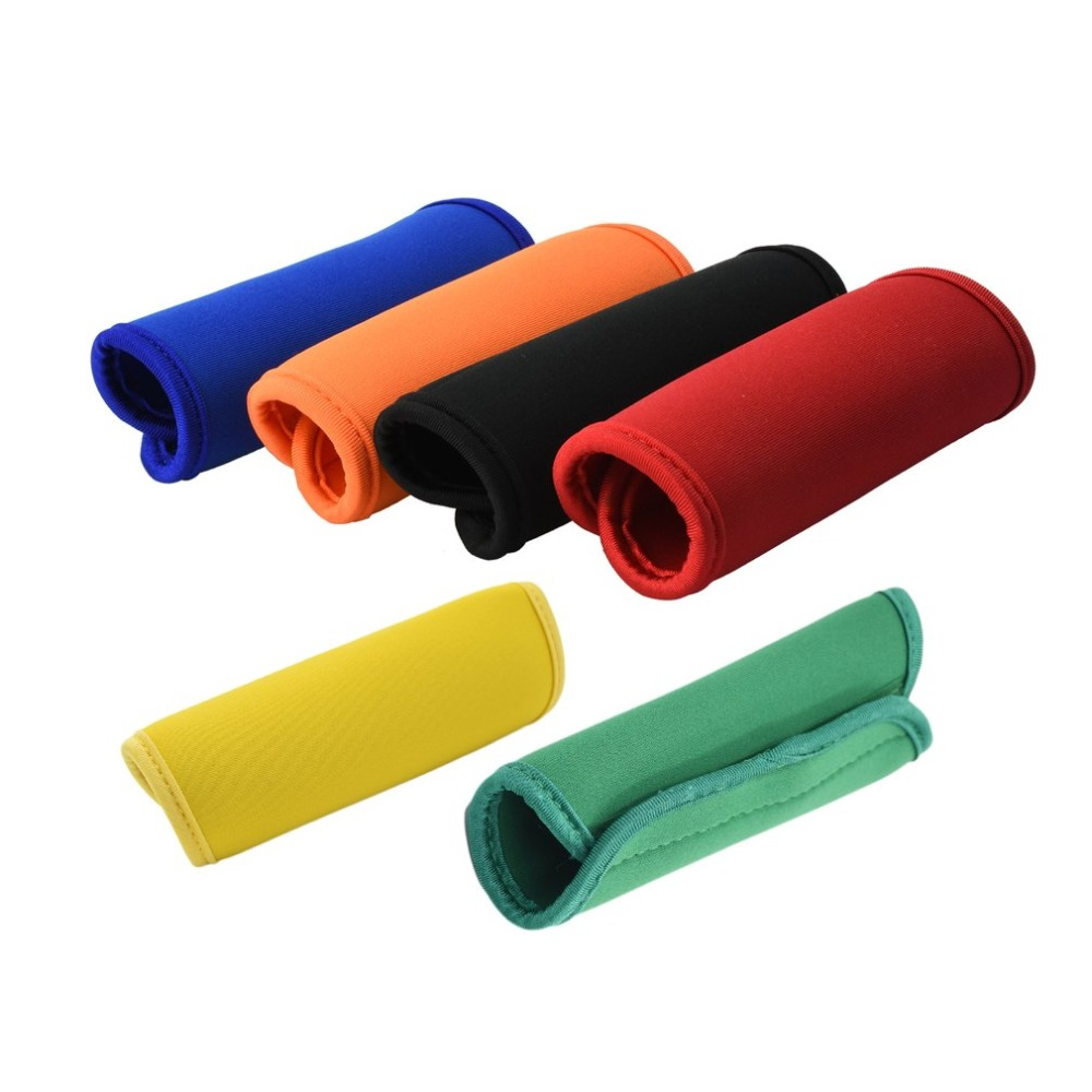 Comfortable Neoprene Luggage Handle Wrap Grip Soft Identifier Stroller Grip Protective Cover For Travel Bag Luggage Suitcase