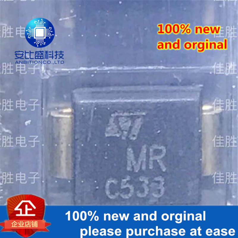 50pcs 100% New And Orginal SM6T30CA DO214AA Silk-screen MR In Stock