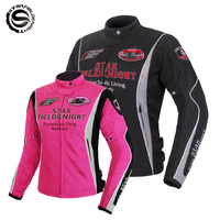 Motorcycle Jacket Women Pink With Protective Pads Waterproof Warm Winter Touring Motorbike Protective Gear Racing Clothing Moto