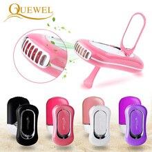 USB Estensione Del Ciglio Mini Ventilatore Aria Condizionata Ventilatore Ciglia Ventole Colla Innestato Ciglia Dedicato Asciugatrice Strumenti di Trucco 5 Colori