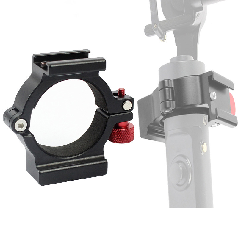 Zhiyun Smooth 4 Accessories Ring Mount Holder Clamp W Cold Shoe For Microphone LED Video Light Field Monitors Mobile Videomakers