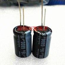 16V6800UF nouveau condensateur électrolytique en ligne de haute qualité 6800UF 16V 16X25 16X30
